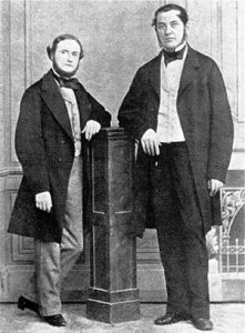 Gustav Kirchhoff and Robert Bunsen analytical chemistry founders elemental analysis